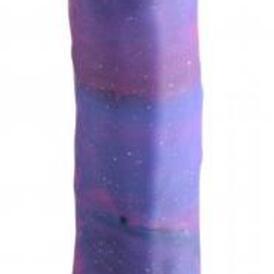 Magic Stick Silicone Dildo With Glitter - 20 cm