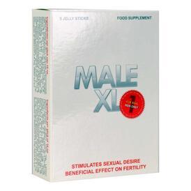 Male XL Jelly Sticks - Aphrodisiac for Men - 5 sachets