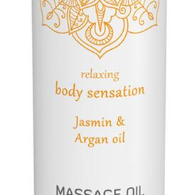 Massage Oil Erotic - Jasmin & Argan Oil
