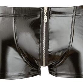 Men's Vinyl Pants With Zip