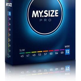 MY.SIZE Pro 72 mm Condoms 3 pieces