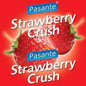 Pasante Strawberry Flavour Condome 144pcs