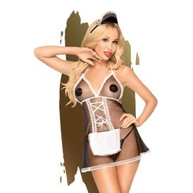 Penthouse Lingerie -Teaser French Maid Costume