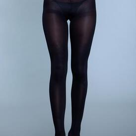 Perfect Nylon Pantyhose - Black