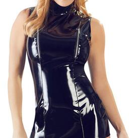 PVC Suspender Dress