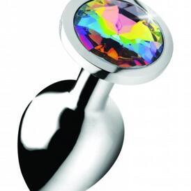 Rainbow Gem Butt Plug - Medium