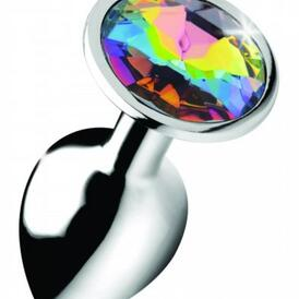 Rainbow Gem Butt Plug - Small