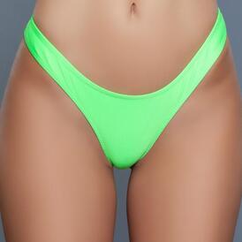 Reese Sexy Bikini Bottom - Green