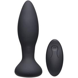 Rimmer Experienced Vibrating And Rotating Butt Plug - Black