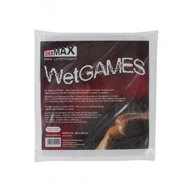 SexMAX WetGAMES Vinyl Sheet 180 x 220 cm - White