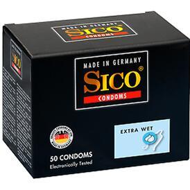Sico Extra Wet - 50 Condoms