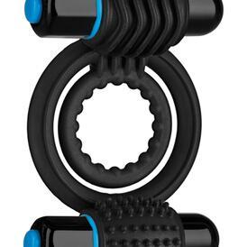 Vibrating Double C-Ring - Black