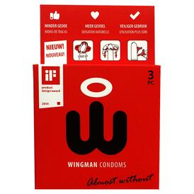 Wingman Condoms 3 Pieces